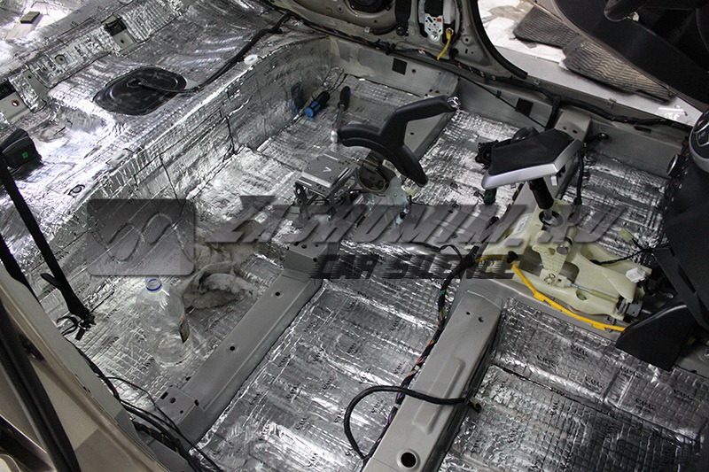Шумоизоляция авто какие материалы хендай солярис