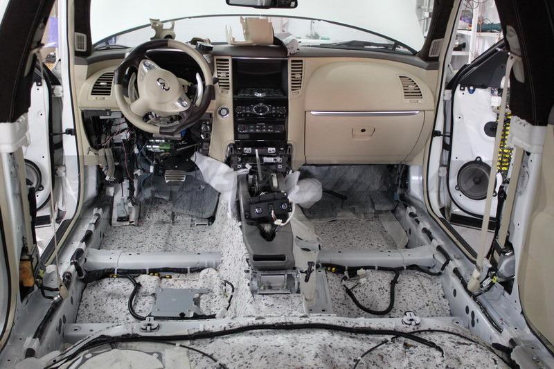 Автомобильная новосибирске шумоизоляция в
