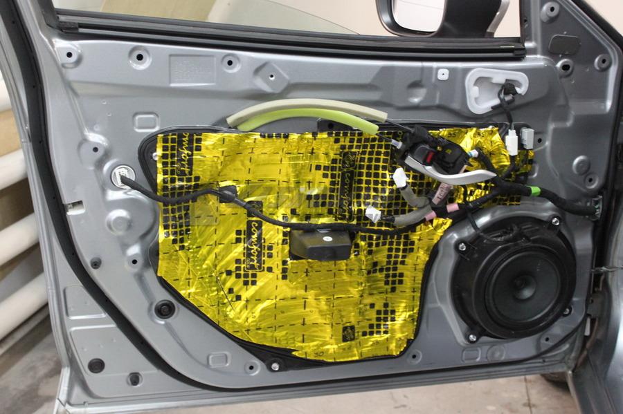 Багажника гетц шумоизоляция